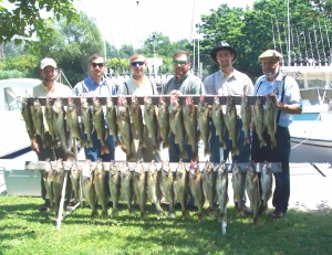 lake erie charters ashtabula ohio trophy walleye catch conneaut geneva