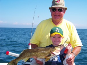 Lucky strike lake erie walleye charters and perch charters ashtabula geneva and conneaut ohio lake erie