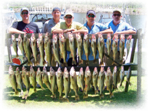 lucky strike lake erie walleye charters ashtabula ohio fishing for trophy walleye, yellow perch, steelhead trout and smallmouth bass out of the lake erie waters of geneva, ashtabula and conneaut ohio