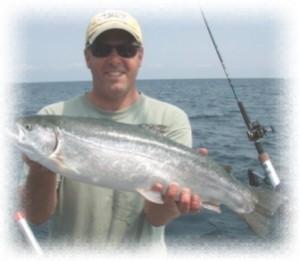 Lucky strike lake erie charter ashtabula geneva and for Erie fishing charters