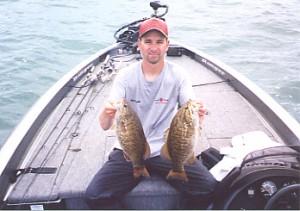 lucky strike smallmouth bass lake erie charter ashtabula geneva and conneaut ohio