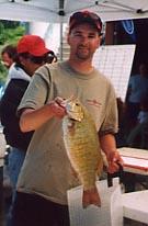 lucky strike smallmouth bass lake erie charter ashtabula geneva and conneaut ohio lake erie
